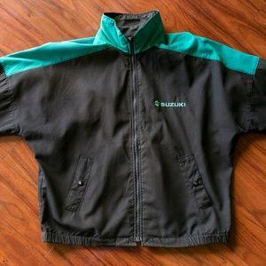 Vintage 90s SUZUKI Full Zip Light Jacket